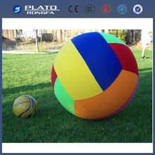 Durable Inflatable Volleyball beach ball/ fashion design water ball/inflatable rolling water ball
