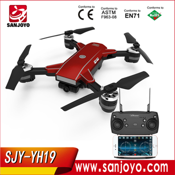 OEM New Pocket Drone YH-19 VS Spark  Drone WIFI FPV With 2MP Wide Angle Camera High Hold Mode Foldable SJY-YH19