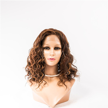 Brazilian invisible part wig remy natural human hair topper wig