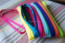 Most popular OEM design strong nylon zipper no.3