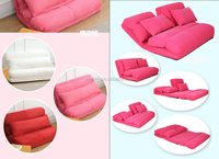 Lounge Sofa/High quality foldable adjustable sofa chair/5 adjustable backrest floor sofa bed