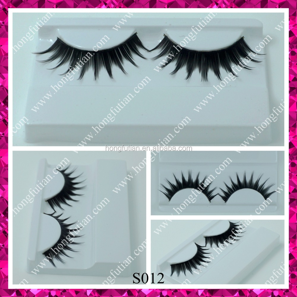 Chinese Wholesale Fashion False Eyelash with custom eyelash box