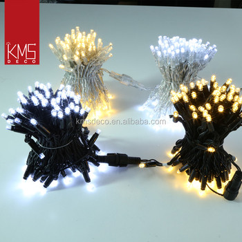 2017 5M 50led extendable string lights PVC wire IP44 waterproof