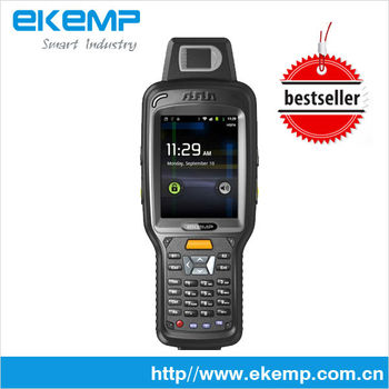 Industrial Handheld dust collector ,laser barcode data collector,with 3G/GPRS WIFI GPS (X6)