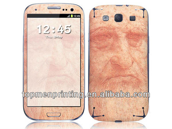 Anti radiation full body cover for samsung s4 guard skin stickers