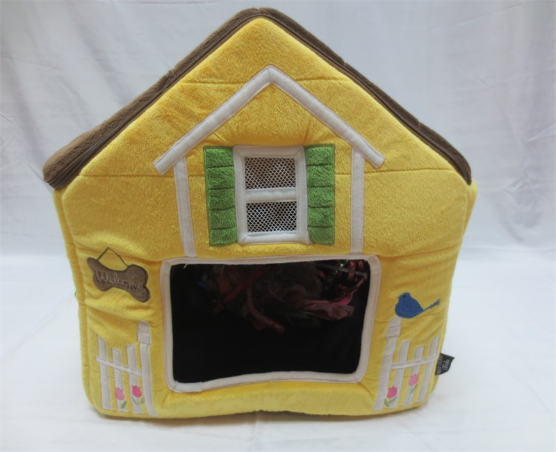 Best selling hot chinese products Yellow cute pet house