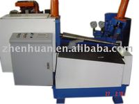 Conical tube rolling machine