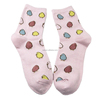 Colourful cartoon girls sex cute Korean style tube socks