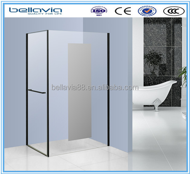 Hot latest bathroom design made in china 6999D factory pivot and fixed bathroom shower