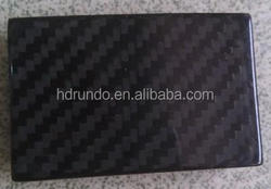 3K Glossy/Matte Plain/Twill Weave Carbon Fiber Belt Buckle