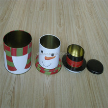 Wholesale cookie boxes/ Tin cans container for food with dividers