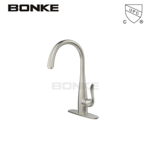 Bonke 304 Stainless Steel Contemporary Kitchen Faucet With Single Handle