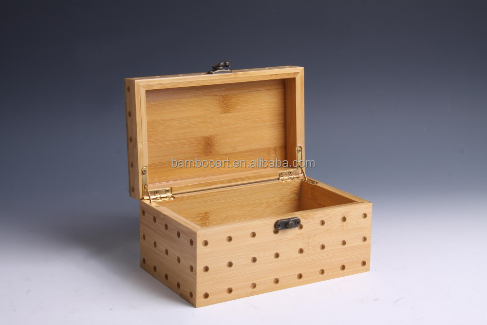 natural laser bamboo packaging box/case