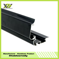 Black anodized extrusion aluminum enclosure for industry from China manufacturer