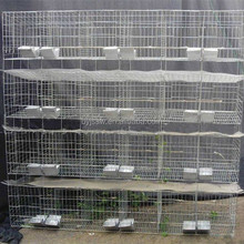 Cheap Galvanized Industrial Metal Welded Rabbit Cage For Sale