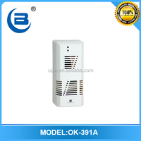 OK-391A Automatic aerosol gel fragrance dispenser fan type for bathroom toilet