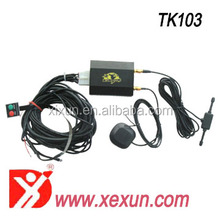 mini gps tracker bag Xexun TK103-2 bicycle personal waterproof gps tracking device