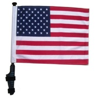 Plastic Flagpole Material Advertising Usage Small Flag
