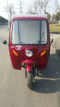 200cc Three Wheel Motor Tricycle With Closed Box And Water Roof New Style On Sale