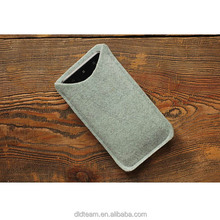 Wholesale Felt Sleeve Case For Iphone Felt Mobilephone Sleeve Phone Cover Soft Phone Case