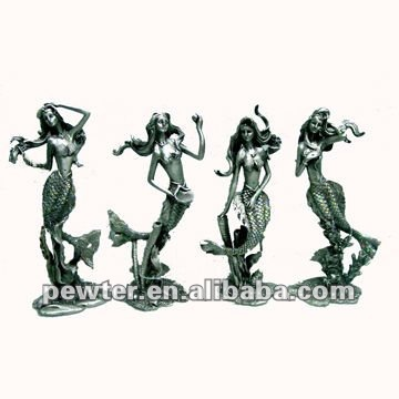 Beauty Pewter Fairy figurines CQH0163