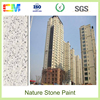 So popular strong intensity stone texture exterior wall coating with low cost