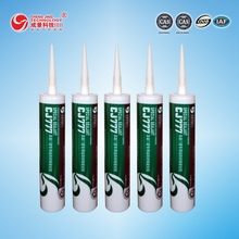 High quality Free Sample CJ777 Gel Adhesive neutral silicone sealant special for aluminum panels and windows