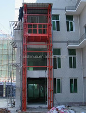 Warehouse Cargo Lift Guide Rail Goods Elevator