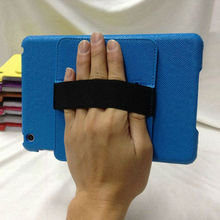 Hand hold leather case for ipad Mini