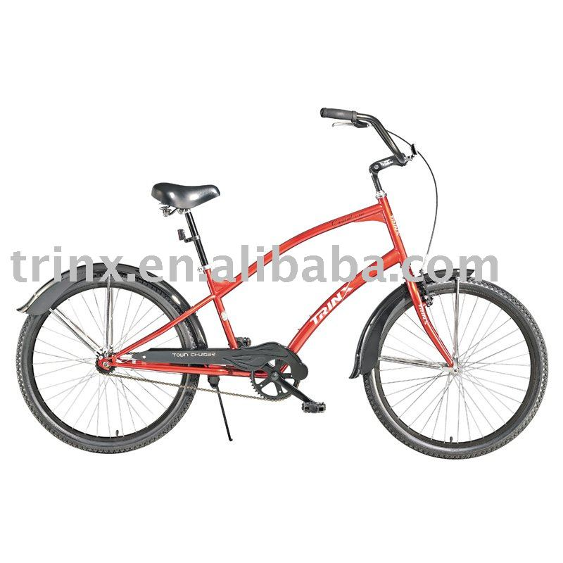 "Hi-ten steel frame 26"" halley cheap beach cruiser bicycles China"