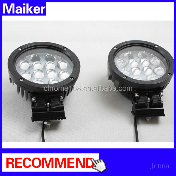 Led spotlight for front bumper for Jeep wrangler jk floodlight auto parts for Jeep wrangler from Maiker