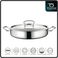 Wholesale South America market stainless steel hot pot casserole