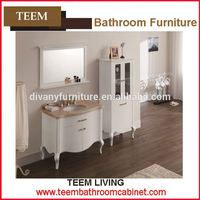 Teem home bathroom furniture Cabinet bathroom design mdf bathroom cabient