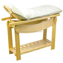 luxury design wooden thai massage bed therapeutic massage table RJ-6626