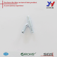 OEM ODM Custom Sus 304 y shape threaded pipe fittings