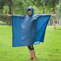 Reusable Waterproof PVC Rain Poncho for Riding Travelling Fishing