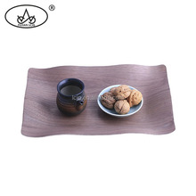 Food grade wholesale long rectangular walnut serving tray measurements