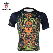New Design Fighting Wear Polyester Rashguard For Sale