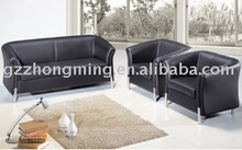 new model Modern leather office black sofa SF-023
