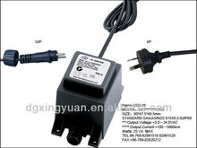 medical supply AC power adapters with waterproof IP68