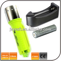 1000 lumen underwater diving flashlight