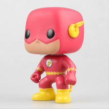 Custom made factory price cartoon style big head funko action figure vinyl toy
