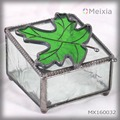 MX160032 wholesale stained glass jewelry box for jewel holder