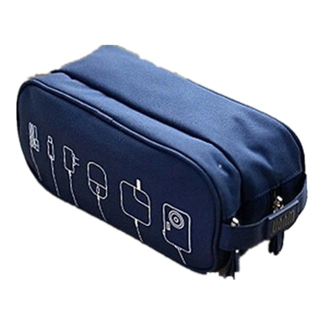 Portable Electronic Accessories Travel Organizer Case/ Cable Organizer Bag