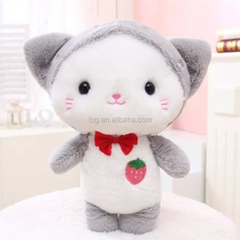Funny Favorite Stuffed Animals Custom Soft Cat Plush Toy for Sale