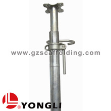Adjustable Steel Scaffolding Prop Single adjustable prop for concrete