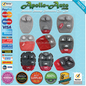 Apollo-Auto.com :: Rubber Pad for GM Keyless Remote Control Excellent Quality