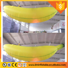 Hanging Inflatable LED Banana Fruit Balloon for Theme Party Decoration