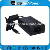 UL CE GS PSE SAA certificate external power supply 12v 5v 60w 5.5*2.5*10mm ac adapter for LED/LCD/TELECOM