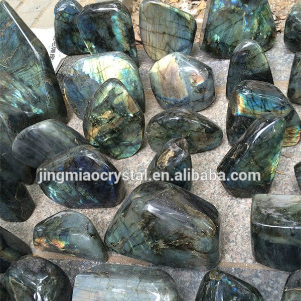 Feng Shui Craft Customized Natural LABRADORITE for Promotion